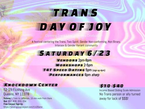 trans day of joy